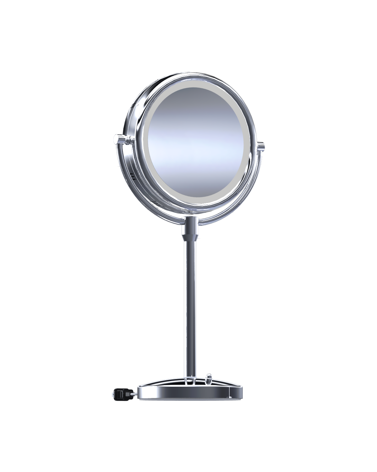 This Practical And Affordable Incandescent Countertop Mirror Features Solid Brass Construction Quality Glass Mirrors Durable Finishes
